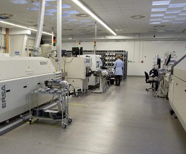 ES System uruchomił nowa linię montażu SMD w Dodczycach