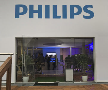 stoisko Philips na targach Energetab