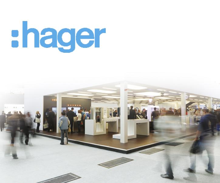 Stoisko firmy Hager