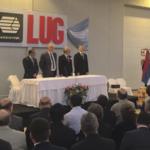 Otwarcie fabryki LUG w Argentynie
