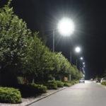 Oświetlenie ulicy w Radomiu