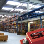 Zarządzanie oświetleniem w halach przemysłowych