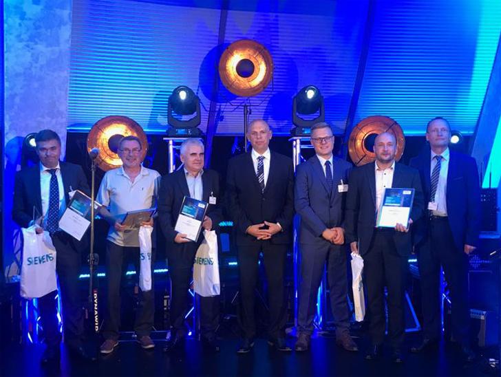 Wręczenie nagród dla partnerów Siemensa 2018