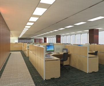 Oświetlenie w biurze