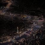 Oświetlenie mostów w Londynie