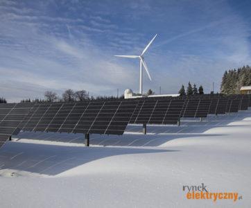 elektrownia fotowoltaiczna i wiatrowa