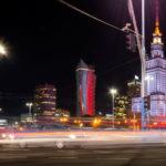 oświetlenie Warszawy