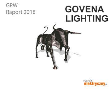 Firmy elektrotechniczne na GPW Govena Lighting