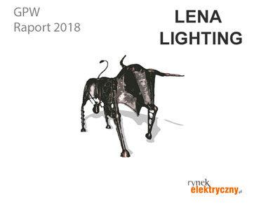 Firmy elektrotechniczne na GPW Lena Lighting