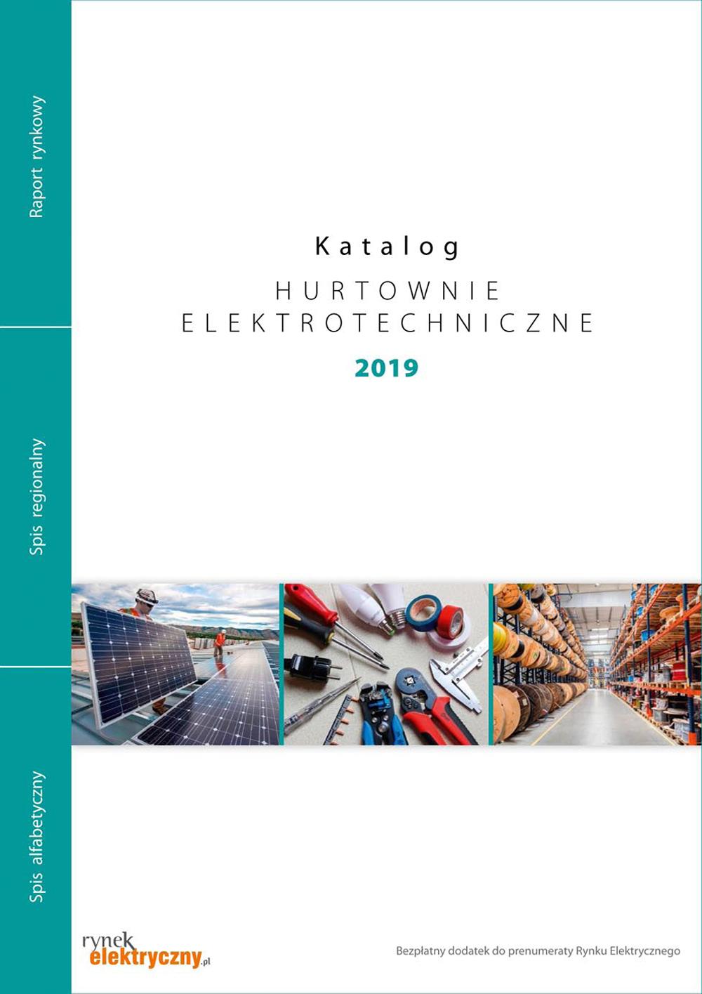Hurtownie Elektryczne Katalog Okładka