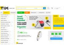 sklep TIM sprzedaż artykułów elektrotechnicznych