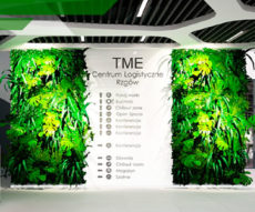 wejście główne nowego magazynu TME