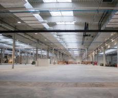 oświetlenie Beghelli w zakładzie przemysłowym Sest Luve